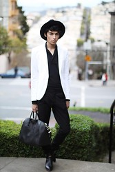 Oliverio Perez - Dior Homme Hat, Givenchy Bag, Alexander Wang Boots, Burberry Blazer - I'm back