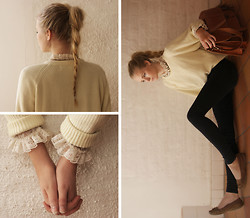 Fanny Lindblad - Grafea Satchel, Jeans, Second Hand Shirt/Blouse - ALL I HAVE TO DO IS DREAM