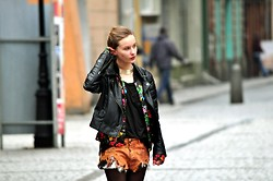 Paulina B. - Cubus Jacket, Diy Shorts, Gina Tricot Jacket - I'd like to have more of you in my veins