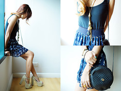 Patricia Prieto - Forever 21 Tank Top, Bershka Skirt, Jeffrey Campbell Heels, Yhansy Necklace, Gucci Bag - Codes And Keys