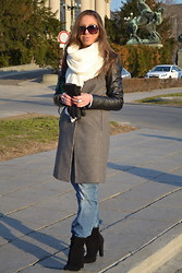 Titina M. - Pull & Bear Scarf, Zara Coat, Ltb Jeans, Aldo Boots, Camaieu Ring - National Assembly