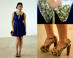 Judy L - Forever 21 Dress, Collar - LA Fashion Week