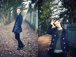 Benjamin R. Tögel - H&M Trenchcoat, Cos T Shirt, Cheap Monday Jeans, Asos Boots - The last (?) day for trenchcoats