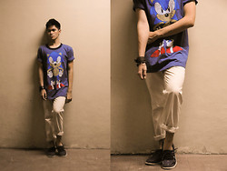 Patrick Enriquez - Thrifted Shirt, H&M Docksiders - Supersonic