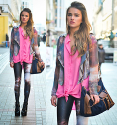 Juliett Kuczynska - Jacket, Bag, Leggings, Shoes Jc - Bright Light - A New Word To Say / maffashion