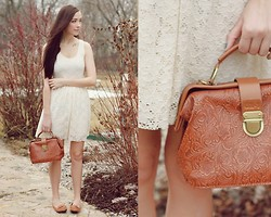 Breanne S. - Chic Wish Purse, Stitched And Adorned Lace Dress - Only the sweetest words remain