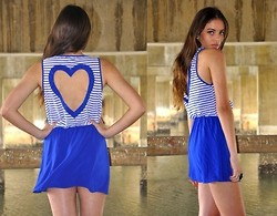 Blinky Bill M. - Reverse Heart Back Dress - ❤❤❤❤❤
