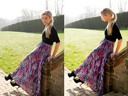 Anna Connelly - Topshop Top, Zara Skirt, Asos Boots, French Connection Uk Necklace - Maxi Madness...