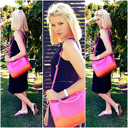 Halina Myers - Asos Csndy Bag, Asos Lace Dress, Asos Glitter Belt - Candybag