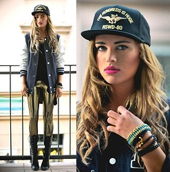 Juliett Kuczynska - Jewellery, Cap, Leggings - Lana Del Rey - Summertime Sadness (Adrien Mezsi) /maffashion