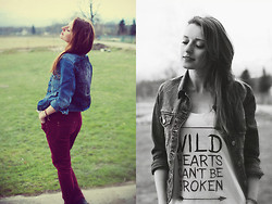 Anita Suchocka - Tee, New Look Pants - Wild Hearts