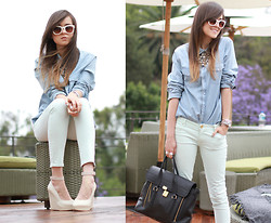 Andy T. - Zara Shoes, Acne Studios Shirt, 3.1 Phillip Lim Bag - THE TERRACE