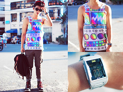 David Guison - Googoo & Gaga Windup Robot Shirt - Robot Boy