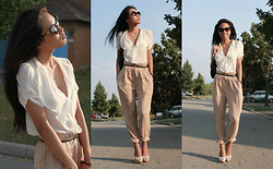 Christiane D - Wilfred Pants, Wilfred Silk Blouse - Chick fresh!