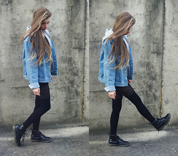 Joanna Kuchta - Secondhand Denim Jacket, Dr. Martens Doc - Teenage kicks