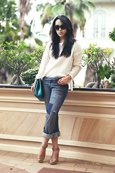 Michelle Koesnadi - Zara Sweater, Armani Exchange Jeans, Chanel Bag, Lanvin Shoes - GOOD FRIDAY