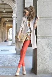 Nicoletta Reggio - Rinascimento, J Brand, Miu, Sarenza.It - Happy Easter Lookbook