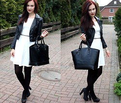 Jen Z - Zara Bag, Zara Dress, H&M Jacket, A'gaci Shoes - This is a part of me