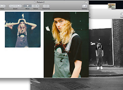Abby OW - Buffalo White Trainers - Printscreens is where it's at.  bitch.
