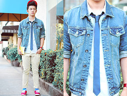 David Guison - Forever 21 Denim Jacket - Denim Dreams