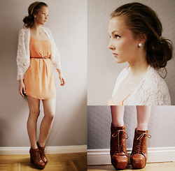 Petra Karlsson - Cardigan, Dress, Shoes - We can always start over