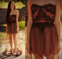 Jennifer Wang - I Made It Lace Applique Dress - MY DESIGN #5 OF 5