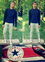 Alessandro M -  - Fred Perry and Converse