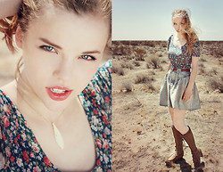 Ruby June - Pacsun Floral Dress, The Frye Company Boots - Pioneer Road Trip!          ☞(Video Link in Description!!)☜