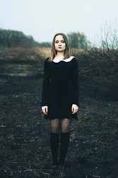 Julie Marie Wlazło - Sh Dress, H&M Stockings, Sh Shoes - SO THIS IS THE END OF THE STORY