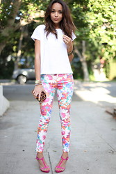 Ashley M - Zara Jeans, Zara Shoes - Flower Power