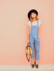 Natsu . - Kate Spade Bag, Phebely Overalls - Long time no see
