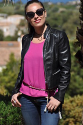 Valentina Coco - Oasap Jacket - Fucsia morning