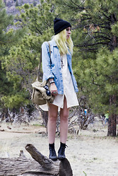 Madeline Pendleton - Stylesofia Shirt, Club Couture Dress, H&M Tennis Shoes - Flagstaff