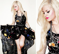 Missi Rose - Galaxy Dress - Let the Cosmos Rock!