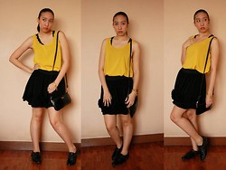 Trina Marie Ledesma - Cropped Top, Black Skirt - Yell-Oh!!