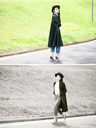 Hosanna Swee - Etsy Vintage Trench - LEATHER TRENCH