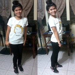 Felicia Cabangal - Greenhills Derpina Shirt, Next Jeans Black, Nike Shoes - Derpina is here.