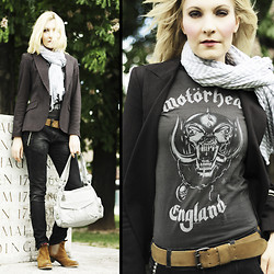 Holly Devils - Zara Jacket, My Lovely Jean Jeans, Amplified Shirt - YEAH - Motörhead baby!!!