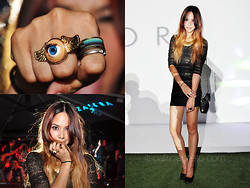 Patricia Prieto - Topshop Dress, Chanel Bag, Charles And Keith Pumps, Yhansy Ring, Yhansy Necklace - Zalora Event
