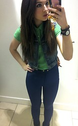 Anna Routledge - American Apparel Riding Pant, Ralph Lauren Polo - Outfit of the day