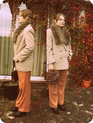 Katiiee . - Charity Shop Coat - Autumn Colours
