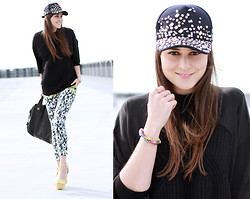 Andy T. - Alexander Wang Sweater, H&M Pants, Givenchy Bag, H&M Cap - BEDAZZLED