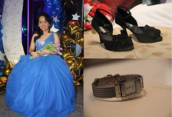 Vanessa Vidal - Joel Escober Gown, Chris Diaz Shoes, Charriol - Cinderella With Black Hair