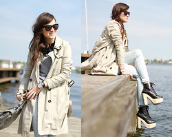 Andy T. - H&M Trench Coat - THE TRENCH
