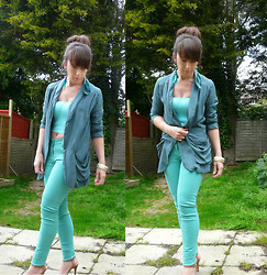 Annie M - Forever 21 Blazer, Topshop Jeans, H&M Earrings - Hey Girl,What You Doing?
