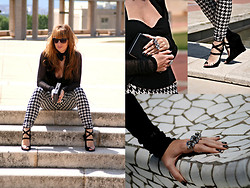 Ruby PlusG - H&M Pants, Les Copains Shoes - Barcelona first day!