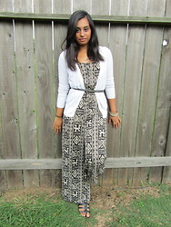 Zahra Ahmed - Forever 21 Jumper, Bcbg Gladiators, Old Navy Cardigan - Romping Around
