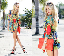 Shea Marie - Tbags Dress, Chiara Ferragni Shoes - So Vibrant