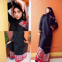 Cut Radhiah Swadia - Dress, Hijab - See the black one