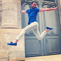 PHILIPP GOMES - Eleven Paris Pants, Scotch&Soda Polo, Aldo Shoes - START  SUMMER------------)